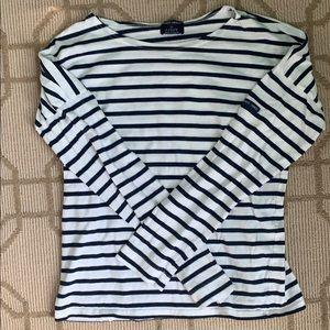 Saint James x J.Crew mariner long sleeve shirt